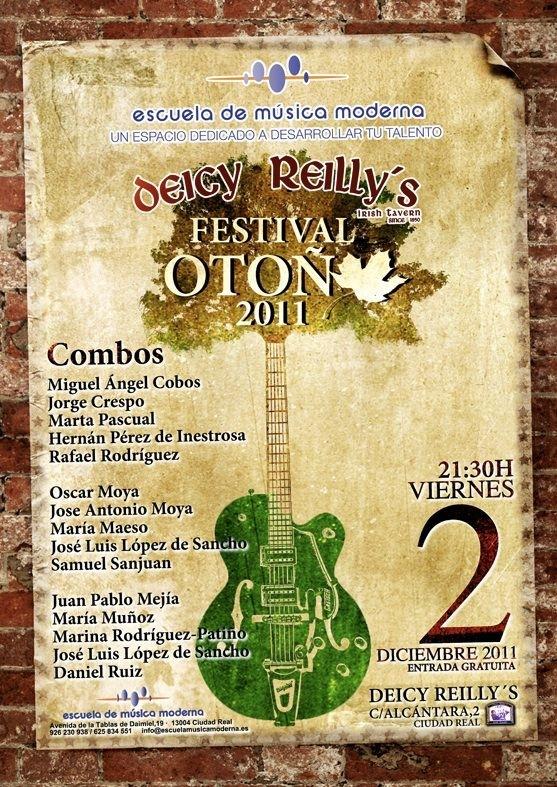 Festival de Otoño 2011 ESCUELA MUSICA MODERNA CIUDAD REAL